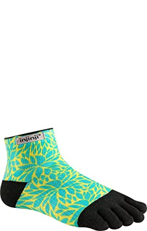 Injinji Calcetines Ejecutar Ligero Mini Calcetines Para Correr HELECHO MUJER - Helecho, M/L