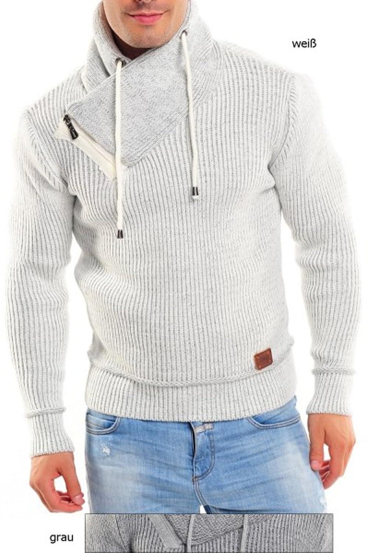 Männer Pullover Strickpullover von CeCe Fashion