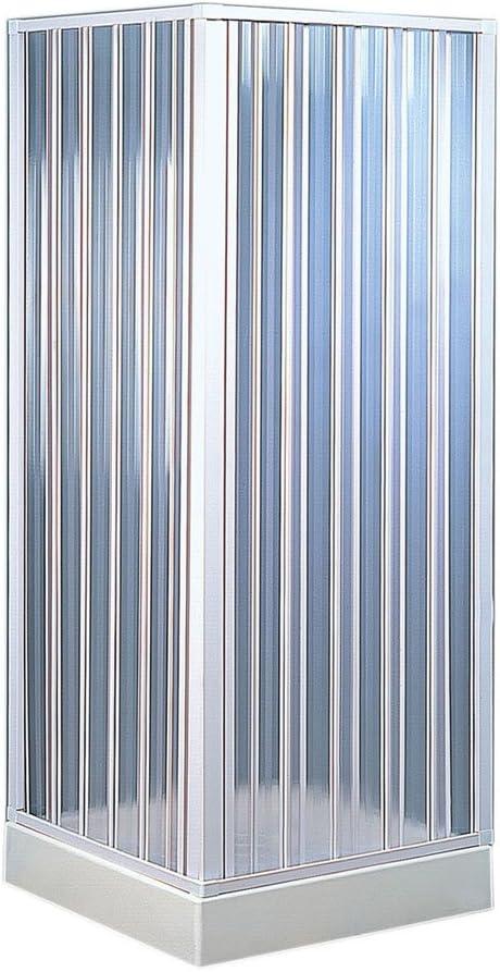 Forte BKP100001 - ducha angular plegable,80 x 80 x 185 cm: Amazon.es: Bricolaje y herramientas