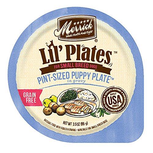 Merrick Lil' Plates Grain Free Pint-Sized Pint Puppy Plate S