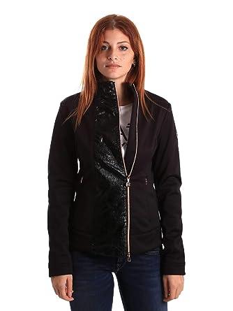 9fb2dcf5404 Emporio Armani Ea7 6ZTB54 TJE7Z Veste Femmes Noir S  Amazon.fr  Vêtements  et accessoires