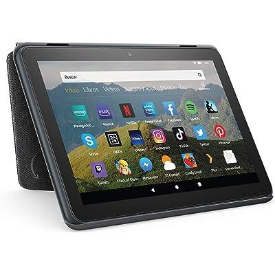 Amazon Funda para tablet Fire HD 8 (compatible con el tablet de 10.ª generación, modelo de 2020), antracita