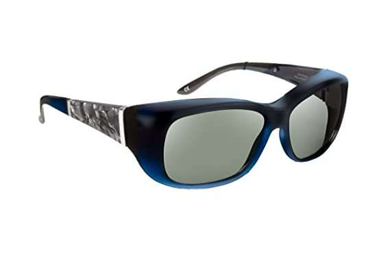 815890a0874 Amazon.com  Haven Fitover Sunglasses Morgan in Sapphire   Polarized ...