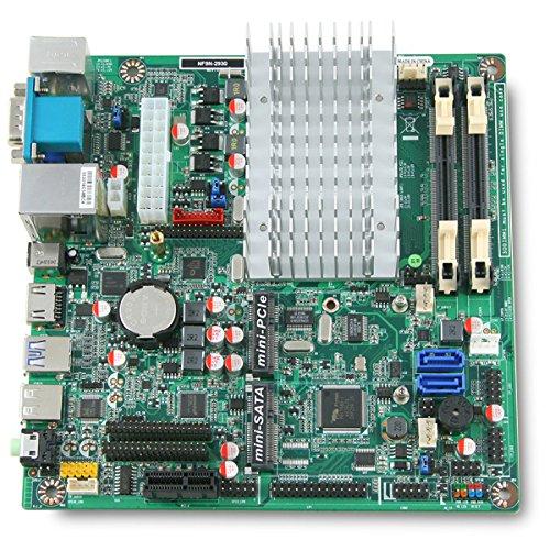 Jetway NF9N Intel Celeron N2930 Mini-ITX Motherboard w/ 12V DC-in On-board Power by Jetway (Image #2)