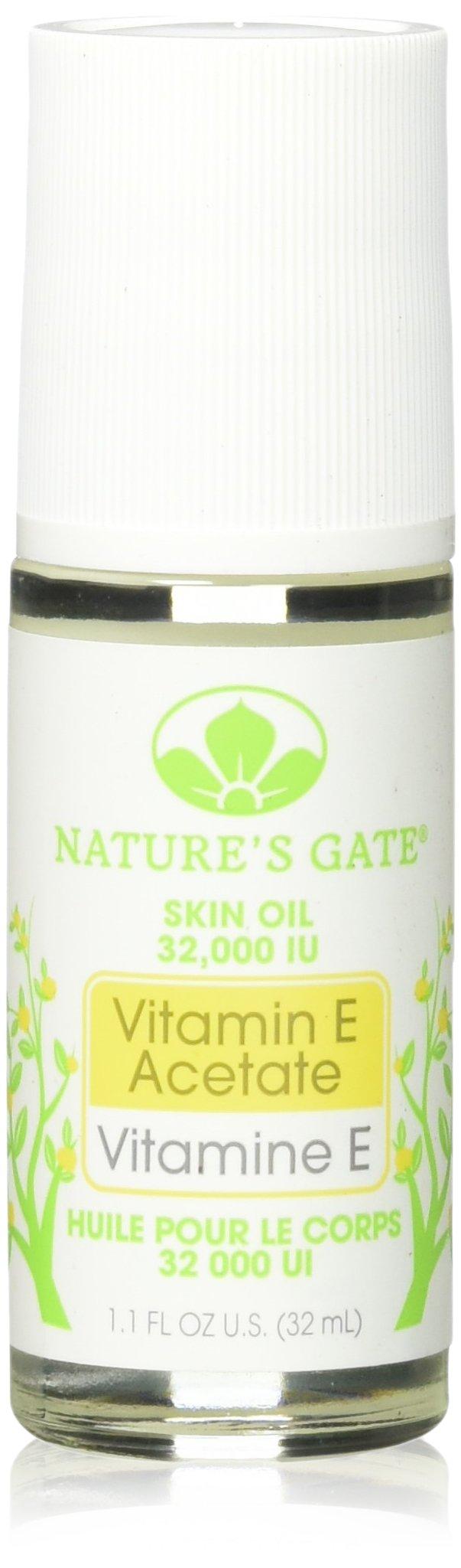 Nature's Gate 32,000 I.U. Roll-on Vitamin E Oil - 1.1 oz