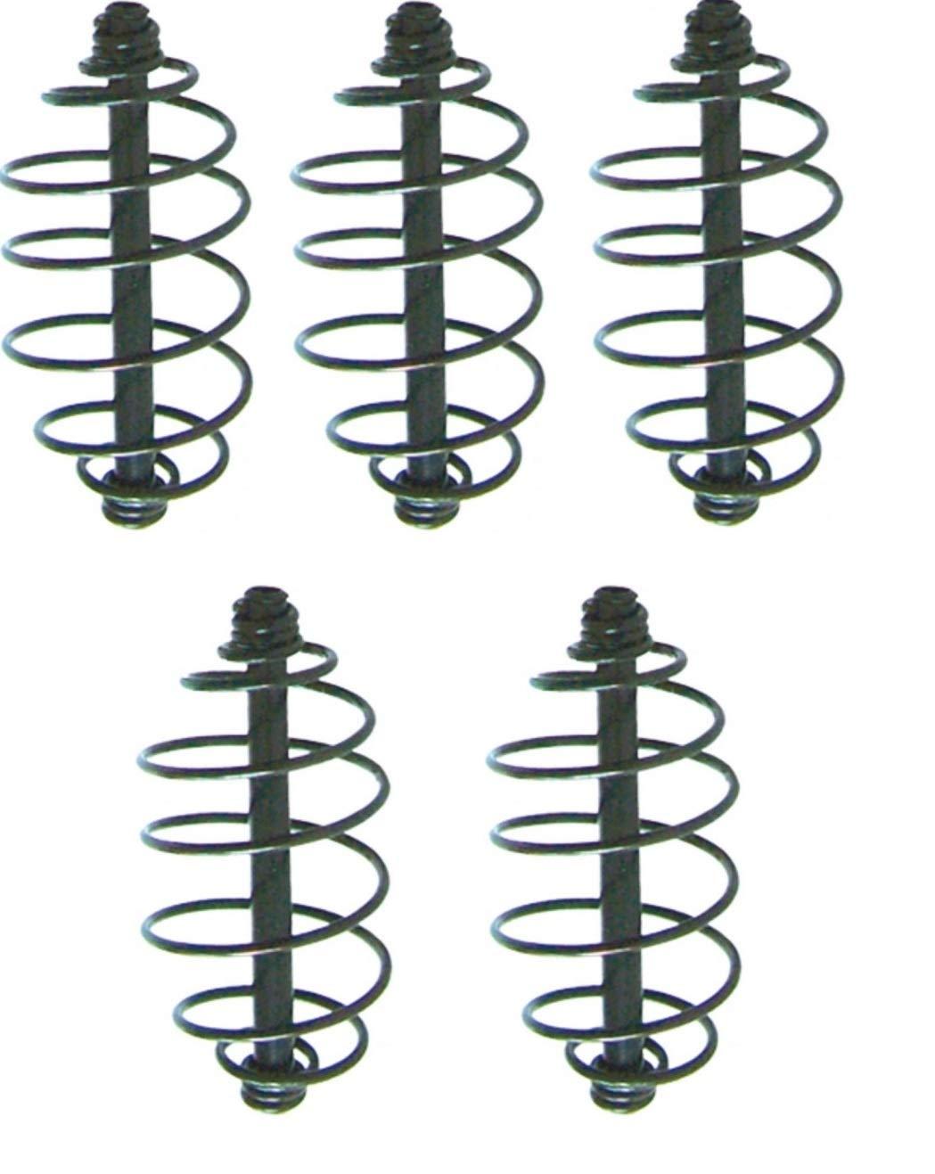 Futterspirale ohne Blei 5 Stück Futterkorb Feeder Spirale
