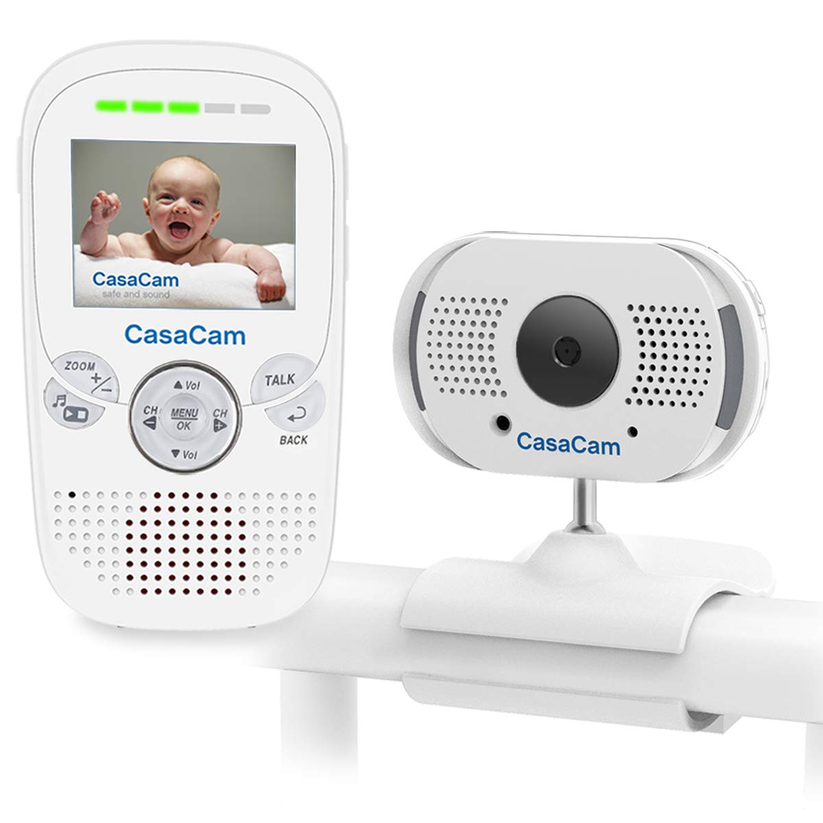 Safety Equipment Baby Sleeping Monitors 2.4ghz Wireless Baby Monitor Rechargeable Sound Digital Audio Baby Monitor Two-way Talk Intercom Vox Sound Detection Function Reputation First