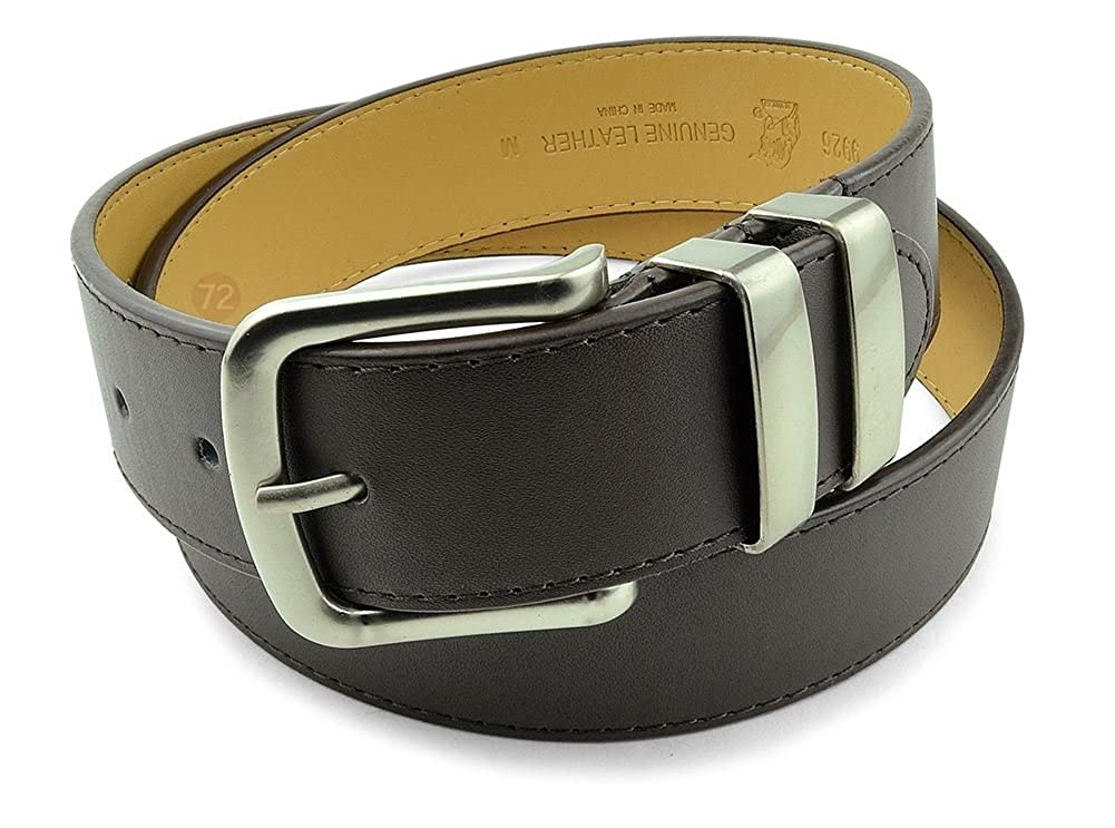 Moda Di Raza-Men Leather Belt Jean Dress Belt With Buckle Desginer Inspired