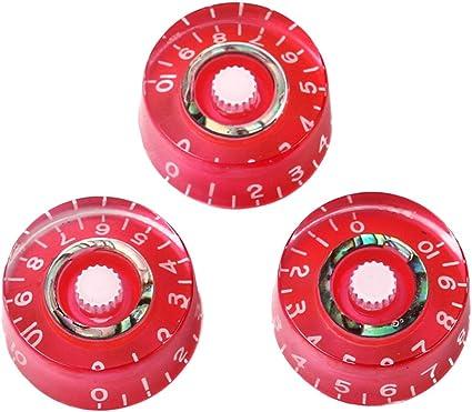 Shiwaki Perilla De Control De Velocidad Redonda Roja Acrílica Para ...