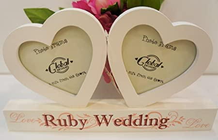 Image Unavailable. Image not available for. Colour: Gorgeous Ruby Wedding Anniversary Gift ...