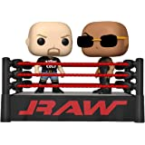 Funko Pop! Moment: WWE - The Rock vs Stone Cold in Wrestling Ring