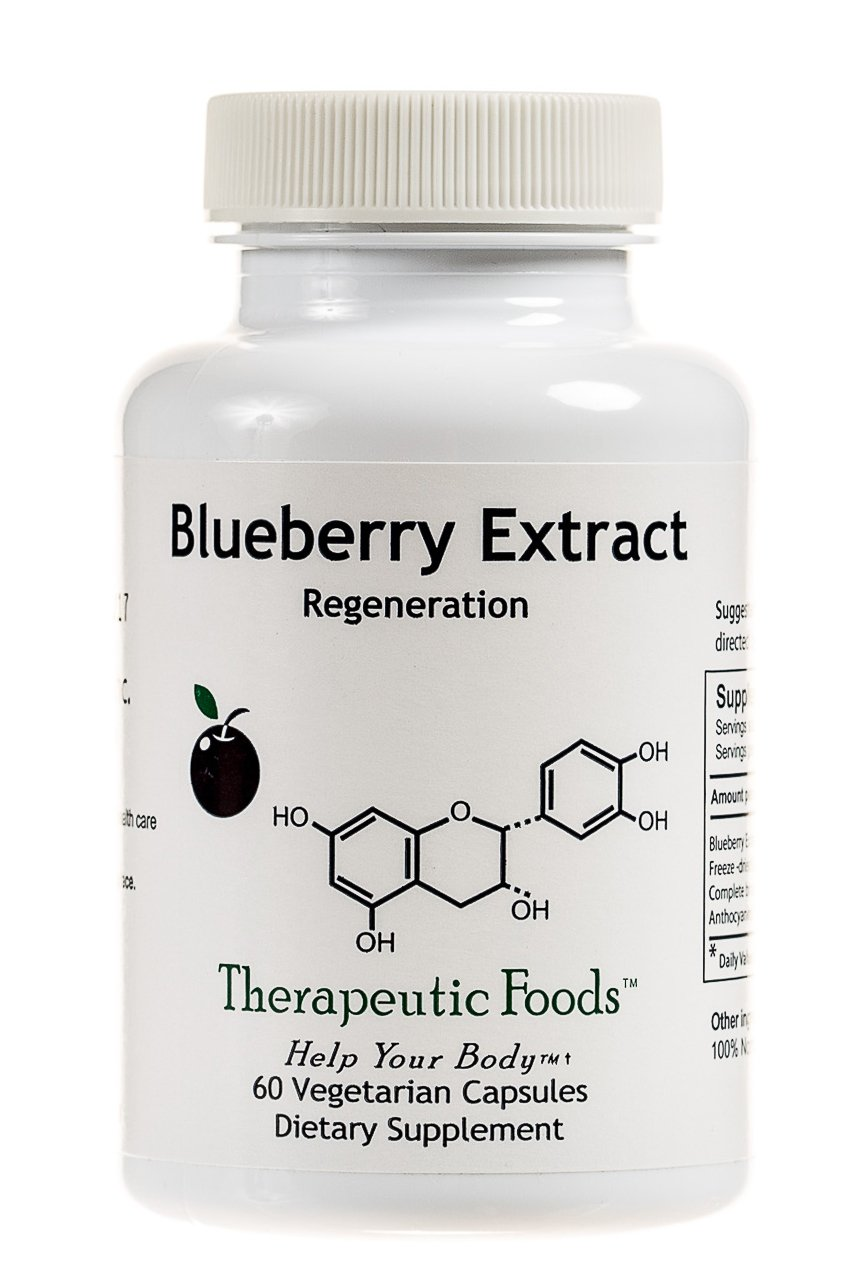 BioImmersion - Blueberry Extract - Nerve regeneration for brain health - 60 capsules