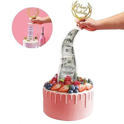 Cake Money Box Money Pulling Cake Making Mold Reusable Money Pulling Box for