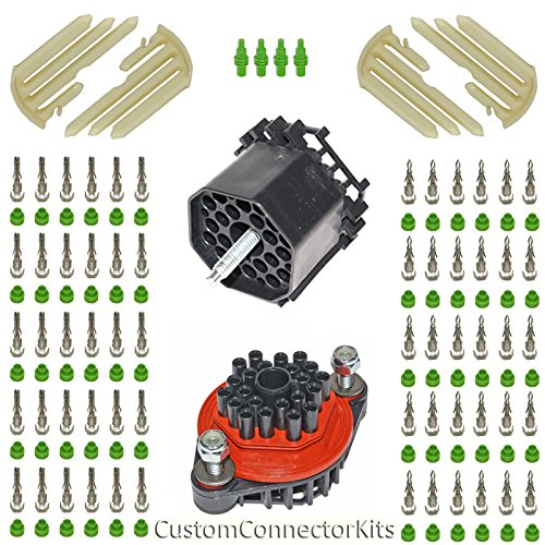 Delphi-Packard Weather-Pack 22 PIN BULKHEAD KIT 20-18 for sale  Delivered anywhere in USA