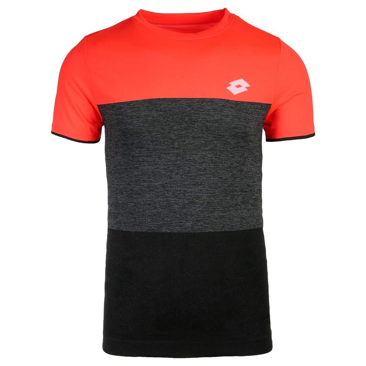 Lotto Camiseta Hombre pádel Tennis Tech tee. 210373 Coral/All ...