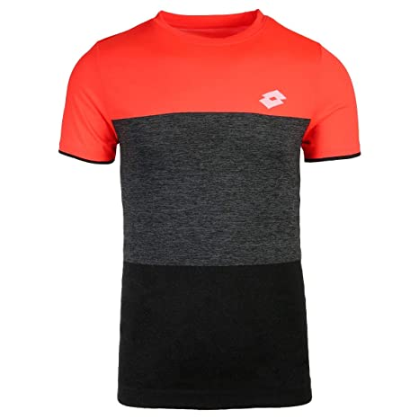 Lotto Camiseta Hombre pádel Tennis Tech tee. 210373 Coral ...