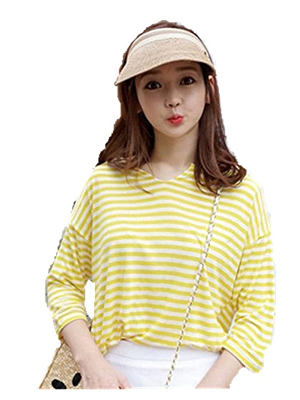 Leisial Women Girls Sun Hat Solid Color Outdoor Baseball Sports Cap Bowknot Summer Visor Adjustable P2U170308SLGXC103