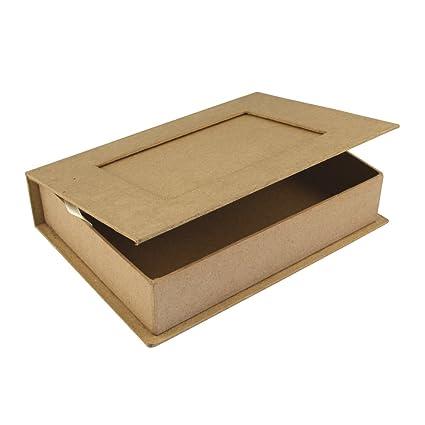 RAYHER - 71747000 - papel maché libro-Box reciclado FSC 100%, 20,7 x ...