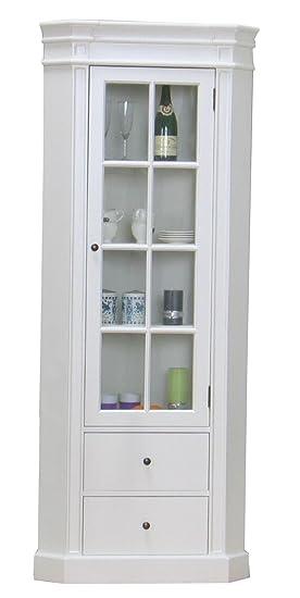 Dynamic24 aMARETTA verre d\'armoire de rangement armoire vitrine en ...