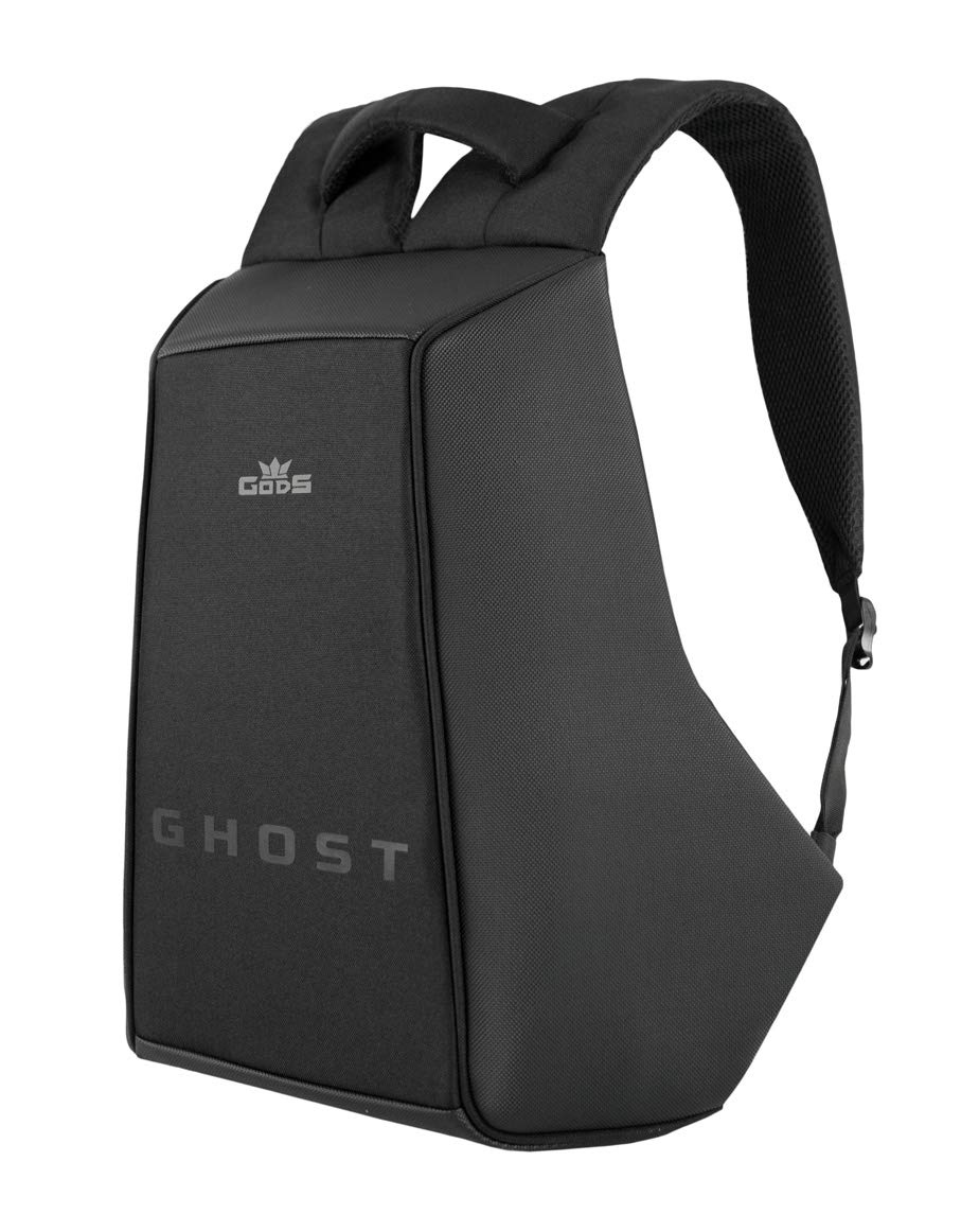 GODS Polyester 22 Ltr Black & Grey Laptop Backpack product image