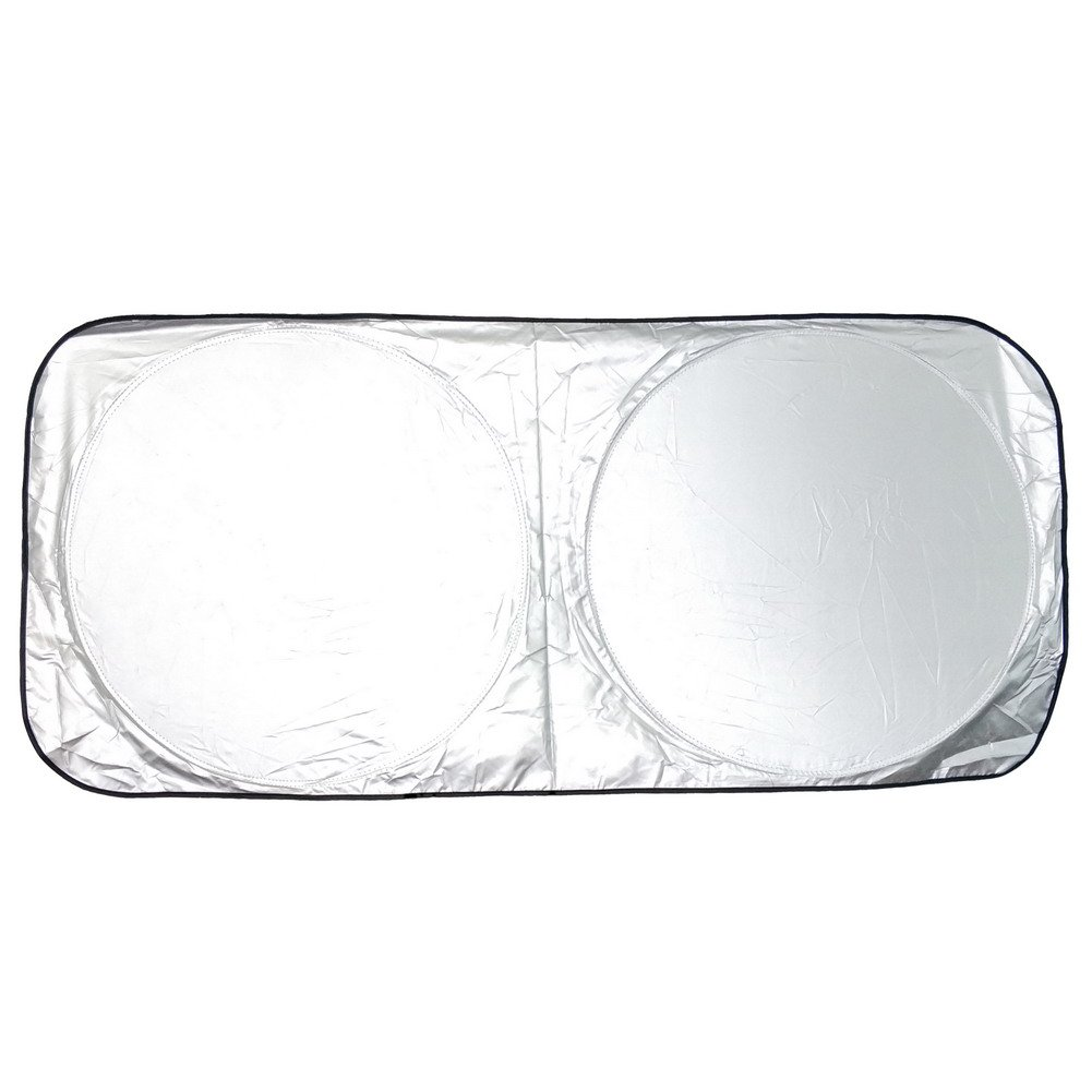 Cartect Windshield Sun Shade Sunshade To Keep Your Vehicle Cool And Damage Free Blocks UV Rays Car Sun Visor Protector Fits Windshields of Various Sizes Heat Reflector Sunshade
