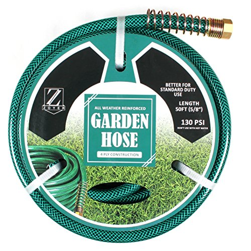 Zoyer Garden Hose Heavy Duty (5/8 x 50 Feet)