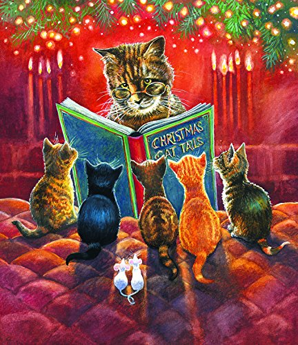 Cat Tales - A 550 Piece Jigsaw Puzzle By SunsOut