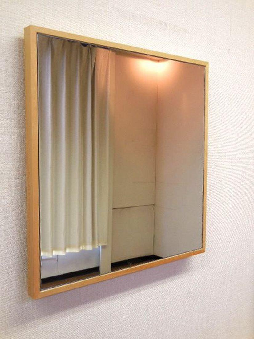 正方形 W42x42 NA 日本製 細枠 壁掛け ミラー 幅 42cm 奥行 2.3cm 高さ 42cm 鏡 面 飛散防止加工 正方 壁掛 スリム フレーム タイプ 【 木枠 木製フレーム 鏡 姿見 壁掛け 壁掛け鏡 壁掛けミラー 壁掛けかがみ 壁掛けカガミ 壁掛鏡 壁掛ミラー 壁掛かがみ 壁掛カガミ 四角 吊りミラー 四角形 吊り鏡 吊りかがみ 吊りカガミ 吊りミラー 吊り鏡 吊かがみ 吊カガミ 玄関鏡 洗面所 吊り鏡 吊り掛けミラー 吊り掛け鏡 吊掛けミラー 吊掛け鏡 吊り下げミラー 吊り下げ鏡 吊下げミラー 吊下げ鏡 かがみ カガミ 壁鏡 壁かがみ 壁ミラー 吊りかがみ 吊りカガミ 掛けかがみ 掛けカガミ 吊り下げ つり下げ ウォール鏡 壁面鏡 壁面ミラー 】 B00SKN08DS