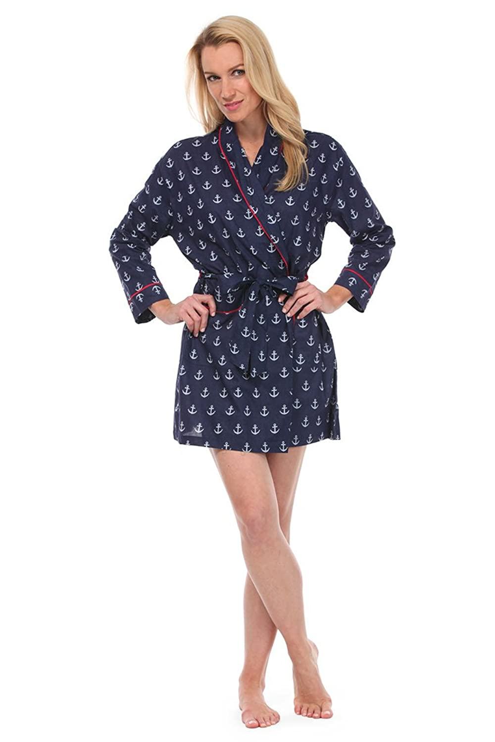 008e485097 Malabar bay womens anchors cotton short robe clothing jpg 1000x1500 Hopi  robe