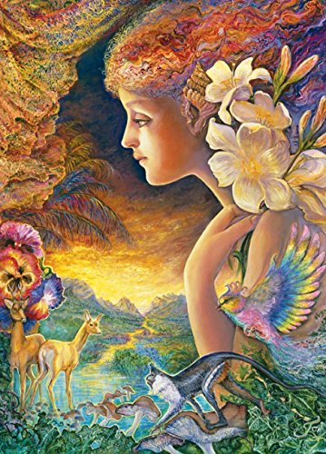 MasterPieces Puzzle Company Random Collectible Jigsaw Puzzle Tin (1000-Piece), Art by Josephine Wall
