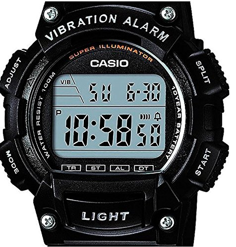 Casio Reloj Digital para Hombre de Cuarzo con Correa en Resina W-736H-1AVEF: Amazon.es: Relojes