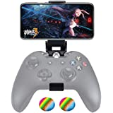 Customized Controller Foldable Mobile Phone Clip Compatible with Xbox One/Steelseries Nimbus/Steam Controllers, Smartphone Clamp Holder Work with iPhone/Samsung/Sony/LG/Huawei