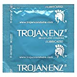 Trojan Condom ENZ Lubricated, 100 Count