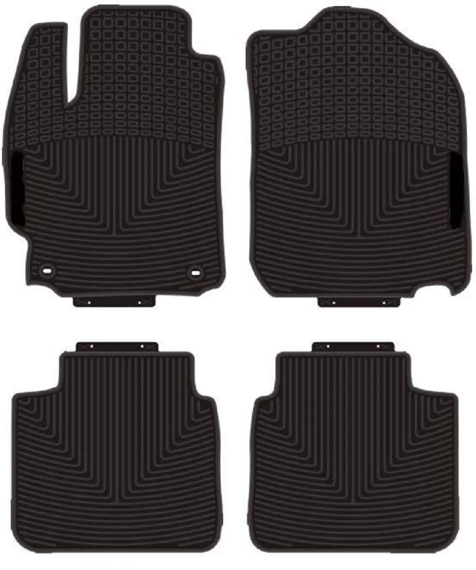 All Weather and Season Protection Car Carpet kaungka Heavy Rubber Car Front Floor Mats Compatible with 2011-2017 Toyota Camry