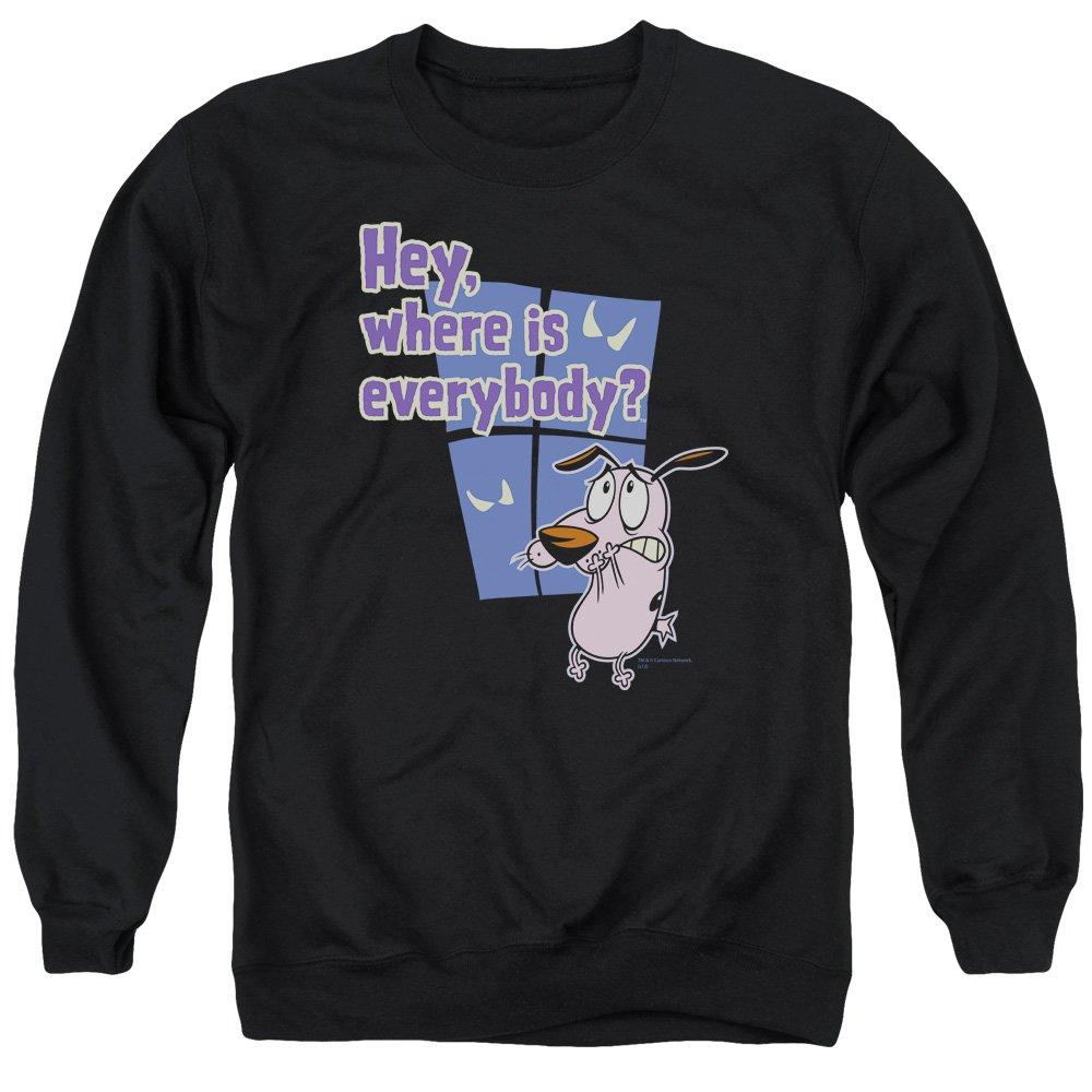 Johnny Bravo Herren Sweatshirt Opaque Schwarz Schwarz