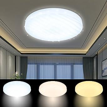 VGO® 12W LED Wellig Sternenhimmel Deckenleuchte Mit ...