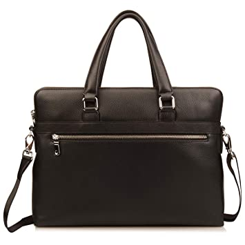 Men/'s Leather Messenger Bags Briefcase Shoulder Bag Crossbody Tote Handbag
