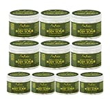 SheaMoisture Olive & Green Tea Hand/Body Scrub, 12 Ounce (10 pack)