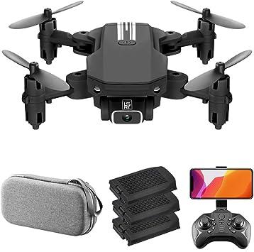 Opinión sobre GoolRC LS-MIN Mini Drone RC Quadcopter 1080P Cámara 13mins Tiempo Vuelo 360° Flip 6-Axis Gyro Gesto Foto Video Pista Vuelo Altitud Control Retención Remoto sin Cabeza Drone para Niño Adulto 3 Baterías