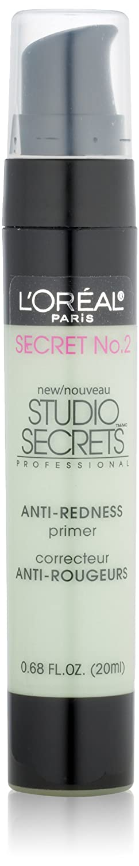 L'Oréal Paris Studio Secrets Professional Anti-Redness Correcting Primer, Green, 0.68 fl. oz. L' Oreal Paris 20hd0z