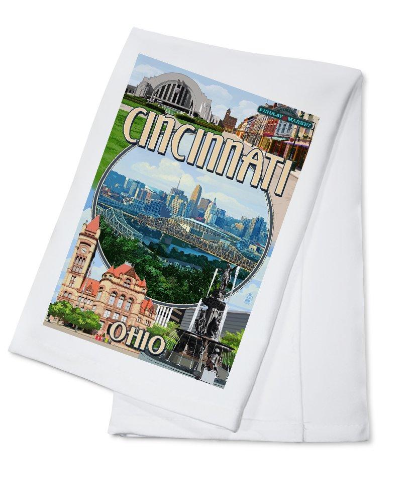 低価格 シンシナティ、オハイオ州 – モンタージュシーン Towel B018OBF4ZC Cotton Towel LANT-45951-TL B018OBF4ZC Cotton Cotton Towel, GOODLUCK jewelry:34e149ff --- leadjob.us