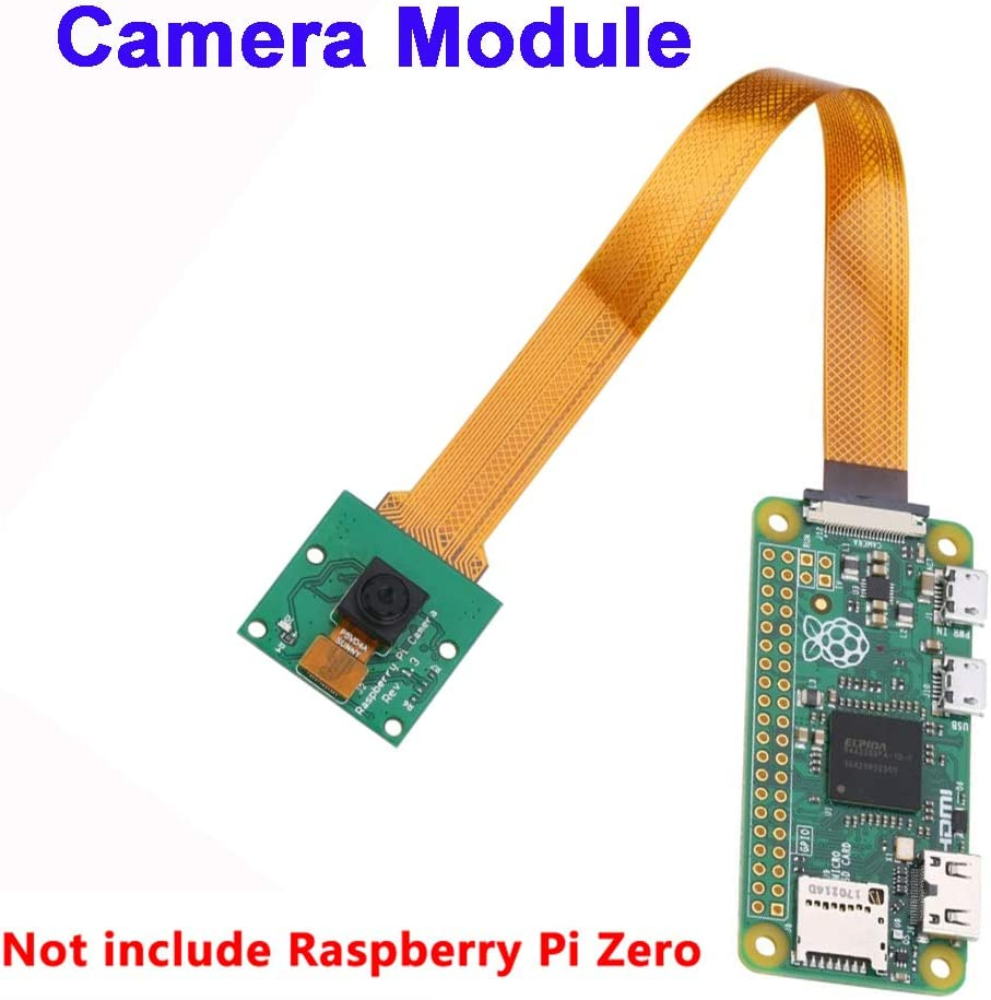 BYBYCD 1 pc Practical Raspberry Pi with Adapter Cable 5MP Camera Module Raspberry Pi Zero Webcam Modules