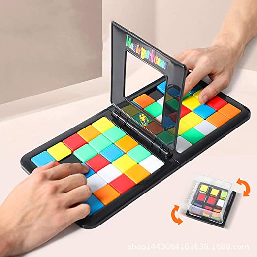 3D Puzzle Race Cube Board Toy Parent-child Interaction Magic Block Game  Gifts UK Modern Manufacture