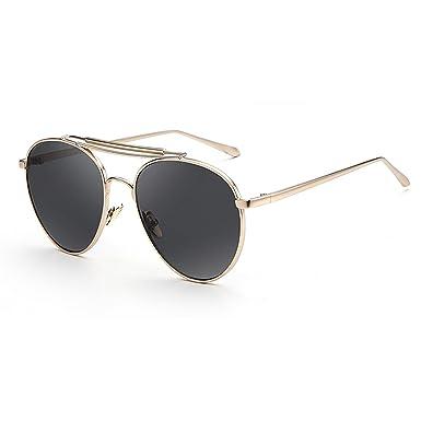 Amazon.com: Moda anteojos de sol polarizadas para mujer ...