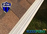 FlexxPoint 30 Year Gutter Cover System- Thermal Thaw Black Residential 5