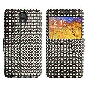 LEOCASE Pequeño Corazón Funda Carcasa Cuero Tapa Case Para Samsung Galaxy Note 3 N9000 No.1001083