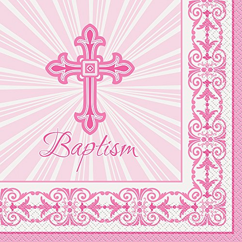Radiant Cross Baptism Party Napkins