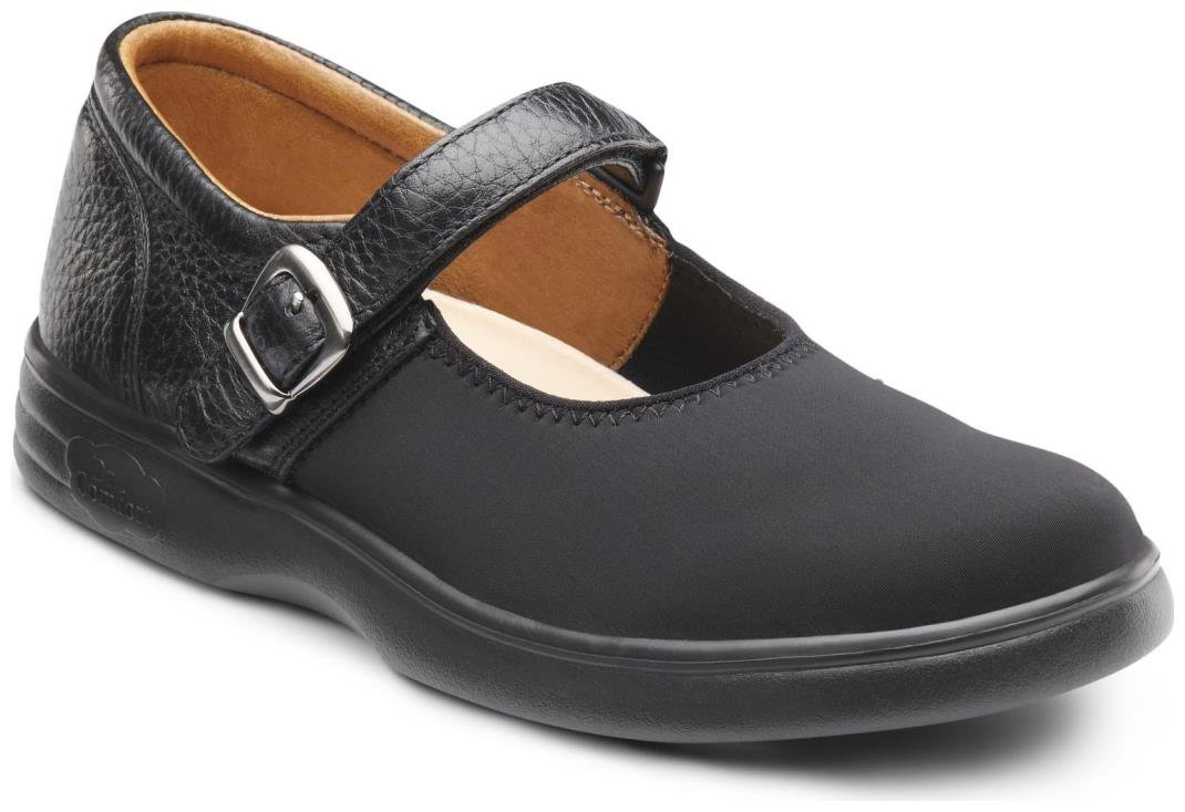 Dr. Comfort Women's Merry Jane Lycra Stretchable Diabetic Mary Jane Shoes by Dr. Comfort (Image #1)