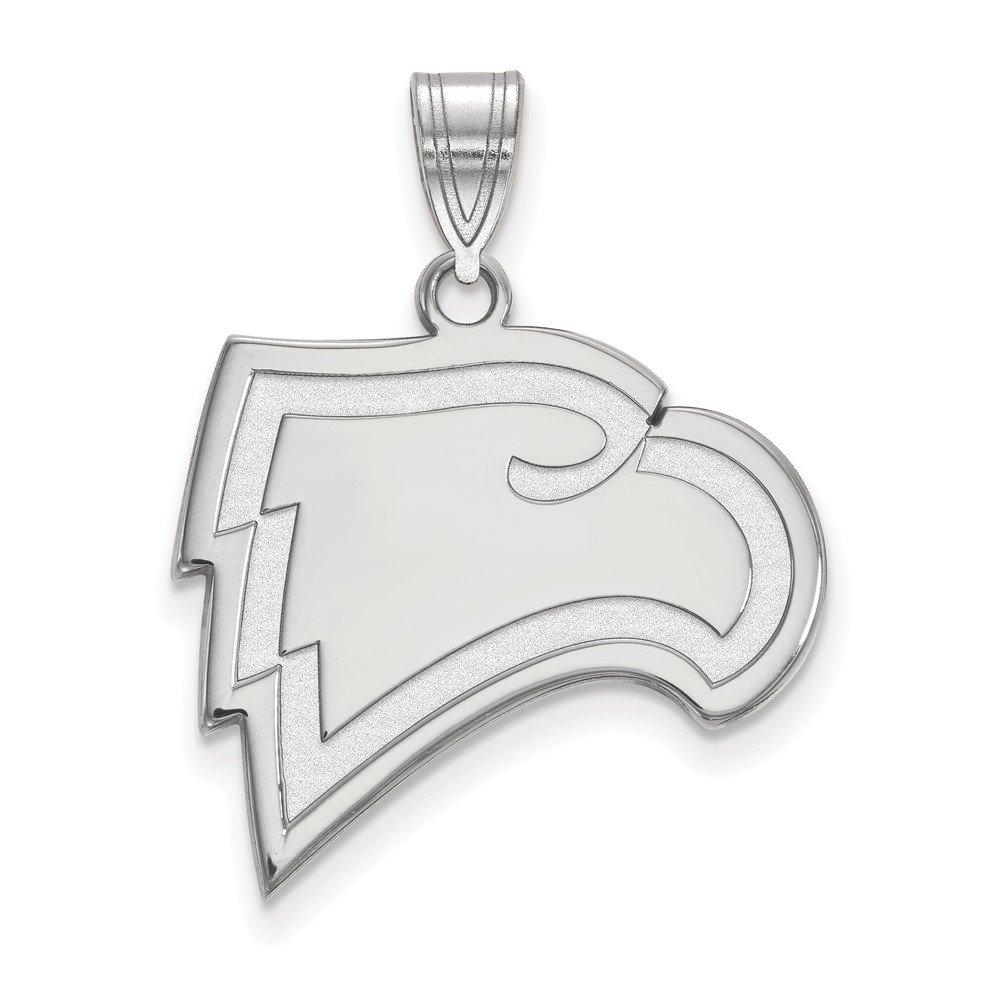 Collegiate Winthrop University Sterling Silver LogoArt Winthrop University Large Pendant