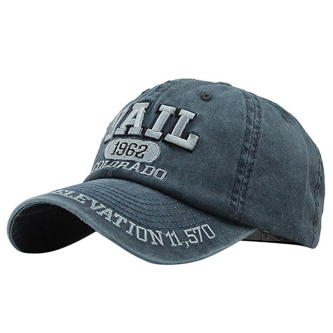 Sombrero, fiosoji Gorras de Hombre Beisbol, Moda de algodón ...